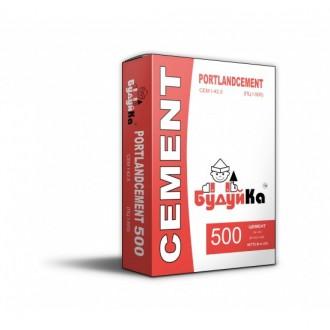 Купить Цемент 500 БУДУЙКА ( мешок  25 кг) в интернет магазине Будуйка