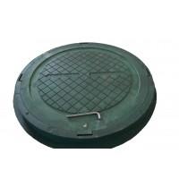 Люк полимерпесчаный легкий А15 зеленый 1,5 т купить в Будуйка