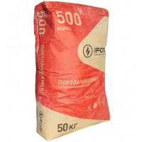 Цемент 500 Ивано-Франковскцемент ( мешок  50 кг)