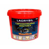 Мастика гидроизоляционная акриловая суперэластичная LACRYSIL  3.0 кг купить в Будуйка