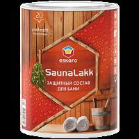 Защитный состав для бани Eskaro Saunalakk (Эскаро Сауна лак) 0,95 л купить в Будуйка
