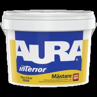 Глубокоматовая краска для потолков и стен AURA Mastare (Аура Мастар)  1 л с IML купить в Будуйка