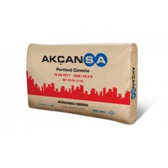 Купить Цемент 500 AKÇANSA Турция ( мешок  25 кг) в интернет магазине Будуйка