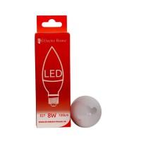 "LED лампа ""свеча"" Е27 8W купить в Будуйка"