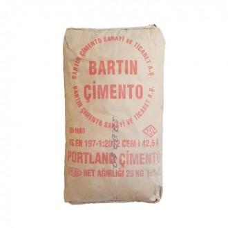 Купить Цемент 500 BARTIN Турция ( мешок 25 кг) в интернет магазине Будуйка