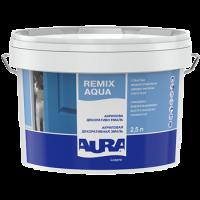 Акриловая декоративная эмаль Aura Luxpro Remix Aqua 0,75 л купить в Будуйка
